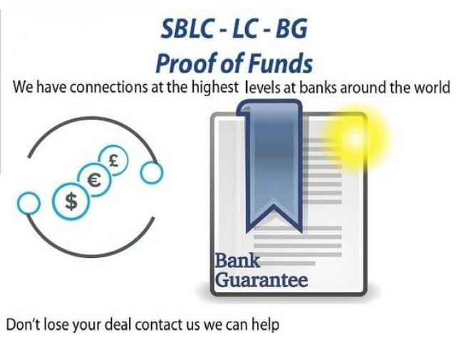 Project/Business Financing/BG-SBLC-MT760/Credit-Loan/Monetizing/MT799/Eurobonds Kingston Ontario