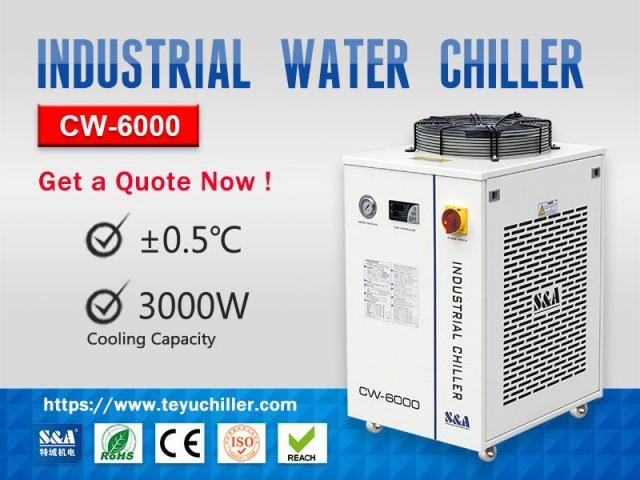 Industrial Water Cooler CW-6000 Calgary Alberta